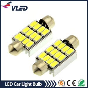 White 39mm Festoon 12SMD 5630 Car LED Auto Interior Dome Door Light Lamp Bulb Pathway pictures & photos