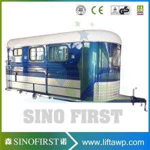 3 Horse Float Angle Load Horse Trailer pictures & photos