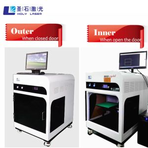 High Quality 3D Crystal Laser Engraving Machine with Best Price Hsgp-4kb pictures & photos