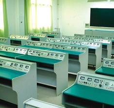 School Physics Laboratory Table