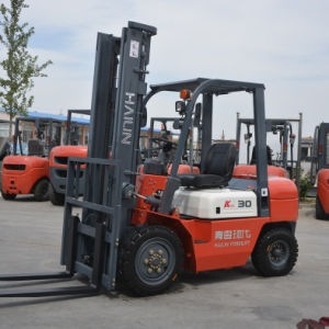 CPC30 Diesel Forklift with Japanese Engine, New Design pictures & photos