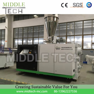 (CE/SGS) Plastic Extruder-PVC/ PE/PPR Water Pipe &Electricity Conduit Pipe& Board Profile Extrusion and Making Machine (haul off/Cutter/Winding) pictures & photos