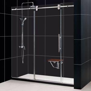 304 Stainless Steel Frameless Sliding Glass Door/12mm Sliding Glass Door pictures & photos