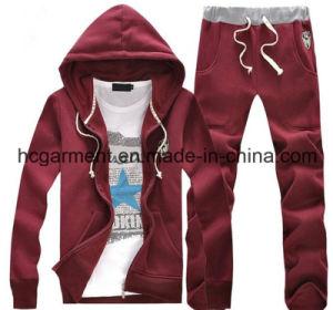 Men′s Hoodie Suit, Outdoor Sweatshirt, Customer Sports Suit pictures & photos