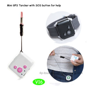 Hot Selling Mini GPS Tracker with Sos Button (V16) pictures & photos