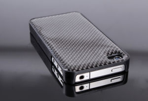 4 4G Real Carbon Fiber Shield Case for Apple iPhone