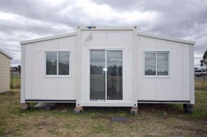 Folding Container House with Double Wings pictures & photos