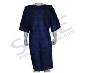 Professional Disposable Hospital Gown, Non-Woven Patient Gown, Hospital Patient Gown with CE & ISO pictures & photos