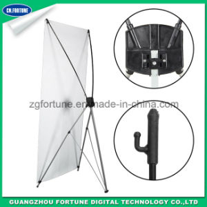 Good Deisgn Korean X Banner Stand for Advertising pictures & photos