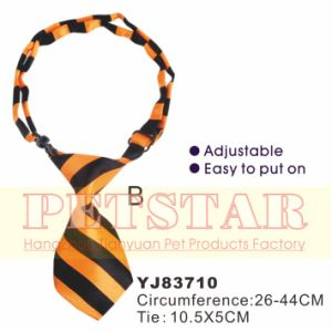 Stripe Yellow Dog Bow Tie, Pet Product (YJ83710B) pictures & photos