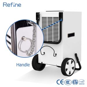 24L/Day 50 Pints Home Portable Cleaning Restoration Dehumidifier