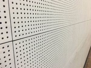 The Recording Studio for Perforated Sound-Absorbing Panels pictures & photos