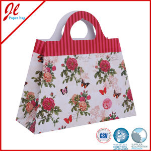 2016 Shopping Paper Bag Flower Gift Paper Bag pictures & photos