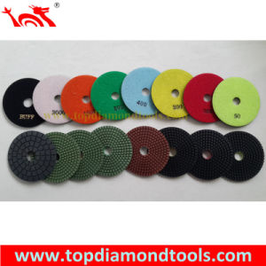 Wet Flexible Diamond Polishing Pads for Stone pictures & photos