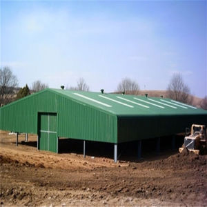 Portable Prefabricated Steel Structure for Warehouse Workshop pictures & photos