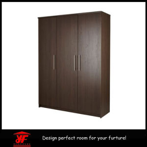 Home Living Room Furniture Bedroom Wall Wardrobe Design Simple Modern Luxury 3 Doors Wooden Almirah Price