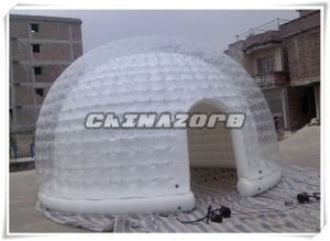 Top Quality New Design Semi-Transparent Inflatable Bubble House Tent pictures & photos