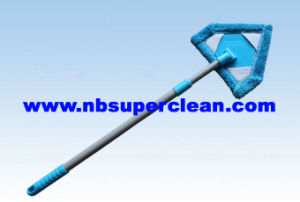 Telescopic Microfiber Corner Duster with Long Handle, Househould Ceiling Duster (CN1196) pictures & photos