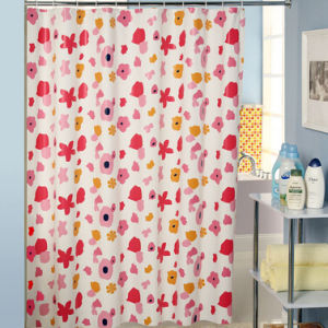 Custom Printing Shower Curtain 180*180cm pictures & photos