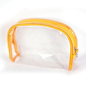 Transparent PVC Cosmetic Bags (CSM13-001b)