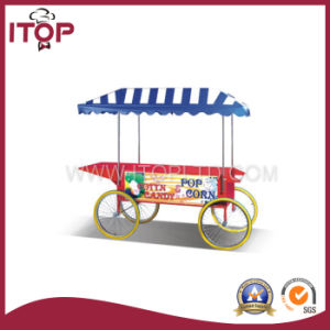 Automatic Industrial Popcorn Maker Machine with Cart (TQ-LC) pictures & photos