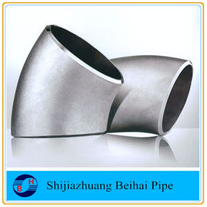 Stainless Steel Sch80s Smls 45deg Pipe Fitting Elbow pictures & photos