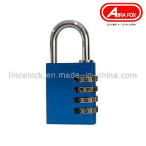 Solid Aluminium Alloy 3-4 Digits Combination Code Padlock (501) pictures & photos