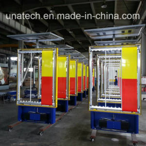 Outdoor Parking Area Advertising Alu. Frame Billboard Solar Panel with Battery Scrolling LED Light Box pictures & photos