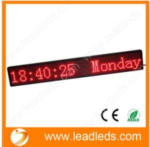 "Jingzhi Factory Hot Selling 12V P6-16128r LED Car Sign 35""X8.7"""
