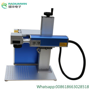 China Fiber CO2 Laser Marking Machine for Metal and Nonmetal