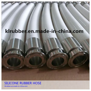 Food Grade Polyester Fiber Reinforcement Silicone Hose for Beer pictures & photos