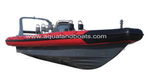 Aqualand 35feet 10.5m Military Rib Boat/Rigid Inflatable Rescue Boat/Dive/Military Patrol/Motor Boat (RIB1050) pictures & photos