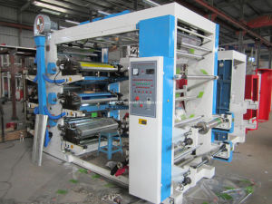 2-Color/4-Color/6-Color Flexographic Printing Machine pictures & photos