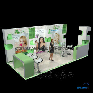 Wood Exhibition Booth for Trade Fair (DT000135)