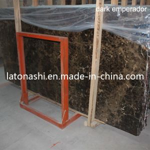 Dark Emperador Marble Stone Tiles pictures & photos