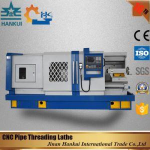 Qk1327 Metal CNC Pipe Threading Cutting Lathe Machine Price pictures & photos
