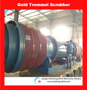 Placer Gold Trommel Scrubber for River Gold Washing pictures & photos