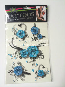 Water Trasfer 3D Tattoo Sticker (15*21cm) pictures & photos
