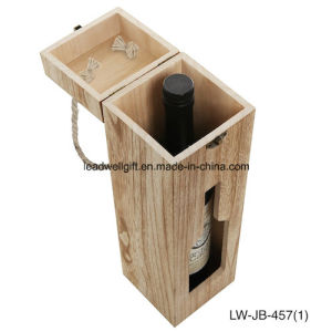One Bottle Wooden Wine Case. Travel Able Wine Carrier pictures & photos