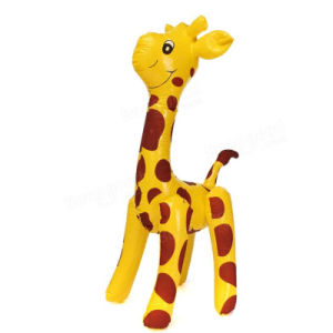 Solid Printing PVC or TPU Inflatable Giraffe Toy pictures & photos