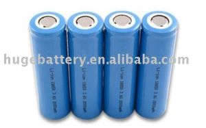 1100mAh 3.7V Rechargeable Li-ion Battery ICR17500 pictures & photos