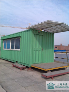 Elegantly Decorated Light Steel Structure Sentry Box/Guard House (shs-mh-security001) pictures & photos