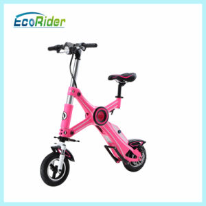 Four Colors Folding Electric Bike with Lithium Battery 36V pictures & photos