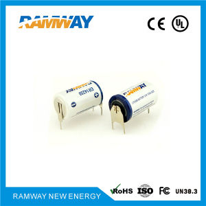 1/2AA 3.6V 1.2ah Lithium Battery for Ammeter (ER14250) pictures & photos