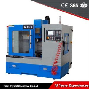 Vertical Machining Center Mini Milling Machine with CNC M400 pictures & photos