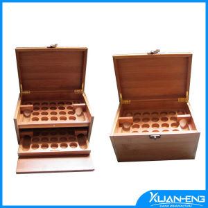 Laser Engraved Bamboo Butterfly Tea Box pictures & photos