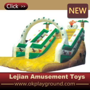 2016 High Quality CE Tree House Style Inflatable Slide (C1224-4) pictures & photos