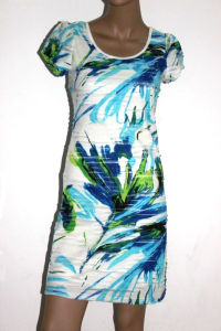 2012 Fashion Design Printed Party Dresses for Women