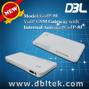 8 SIM Card VoIP Phone/8 Port GSM Gateway (GoIP-8I) pictures & photos