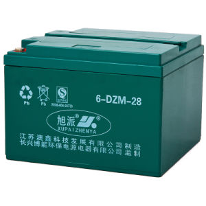 12V 20ah Maintence Free Lead Acid Battery for E-Scooter (6-DZM-28)